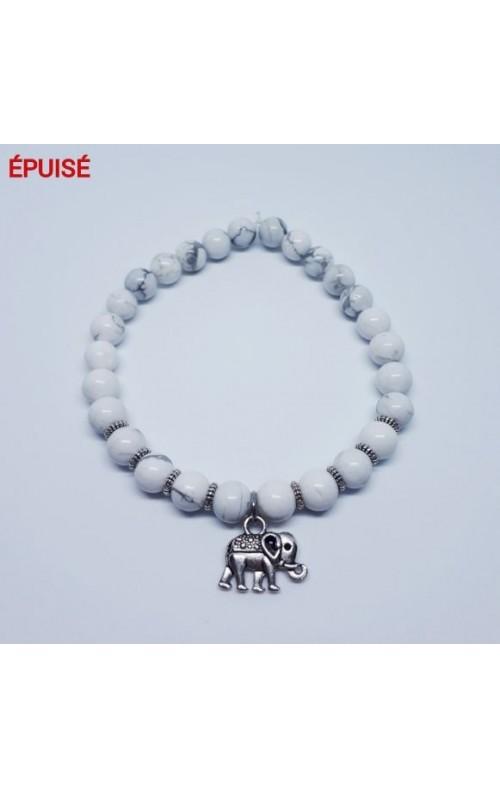 Éléphant marbré